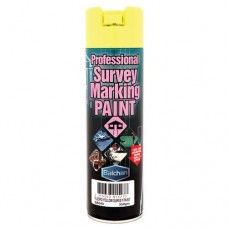 Balchan Survey Marking Paint Fluoro Yellow 350gm