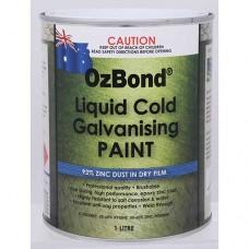 OZ Bond Liquid Cold Galvanising Paint 1L