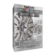 Duplicolor Hyper Silver Coating Kit (Silver/Clear)