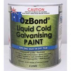 OZ Bond Liquid Cold Galvanising Paint 4L